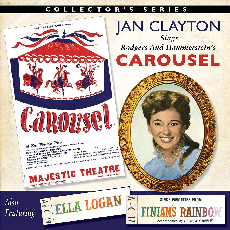 Jan Clayton Sings Bargain sale Max 77% OFF Carousel Ella Fin Logan From Favorites