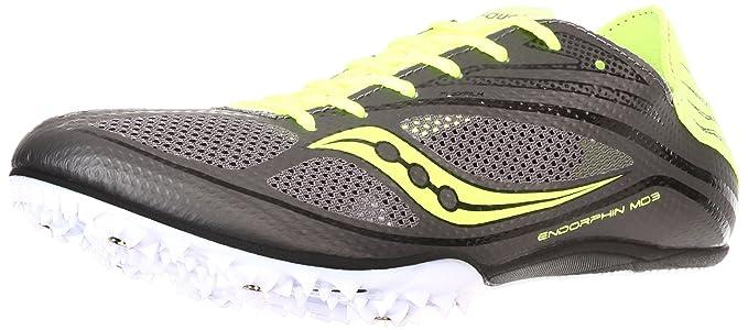 Saucony Endorphin MD3 Media Distancia Zapatillas De Clavos Para Correr - 48: Amazon.es: Ropa y accesorios