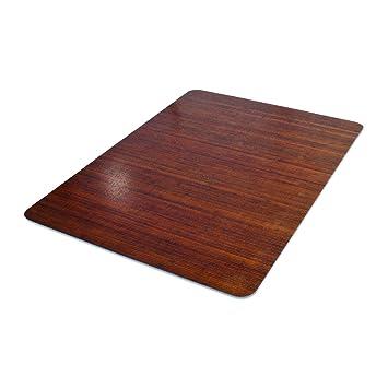 Deflecto DuraMat Decorative Chair Mat, Hard Floor Use, Rectangle, Straight  Edge, 45
