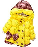 Felpe Con Cappuccio Bambina Bimba Con Zip Felpe Cotone Sintetico Cappotti Giacche Per 2-4 anni