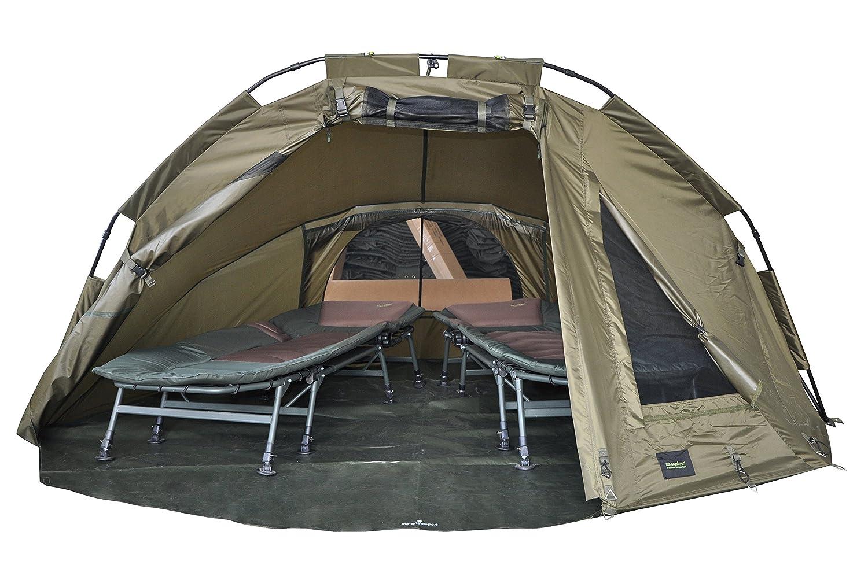 MK Angelsport 5 Seasons 2 Mann Dome /Überwurf Zelt Karpfenzelt Brolly Broly