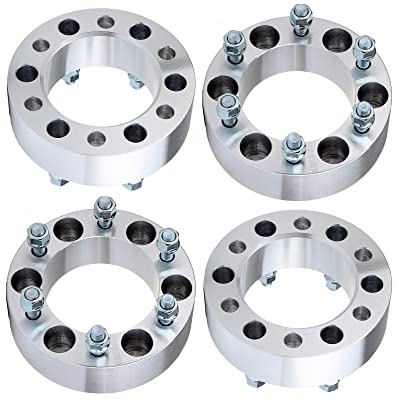"ECCPP Compatible fit for Wheel Spacer Infiniti, Wheel Spacers 6 Lug 2"" 4 PCS 6x5.5 108mm adapters Nissan Frontier/Pathfinder/Armada/Titan/Xterra/Pickup Infiniti QX56/QX4 12x1.25 Studs: Automotive"