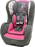Osann Kinderautositz Cosmo SP Corail Framboise pink rosa, 0 bis 18 kg, ECE Gruppe 0/1, von Geburt bis ca. 4 Jahre, reboard bis 10 kg nutzbar