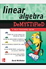 Linear Algebra Demystified Kindle Edition