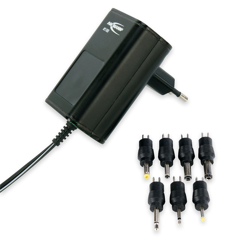 ANSMANN 1201-0000 Aps 600 Alimentatore Universale per Molteplici Apparecchi Elettronici, Utilizzabile in Tutto Il Mondo ANSMANN-ENERGY