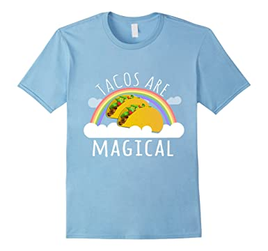 c01e0bd60 Image Unavailable. Image not available for. Color: Mens Tacos are Magical T- Shirt 3XL Baby Blue