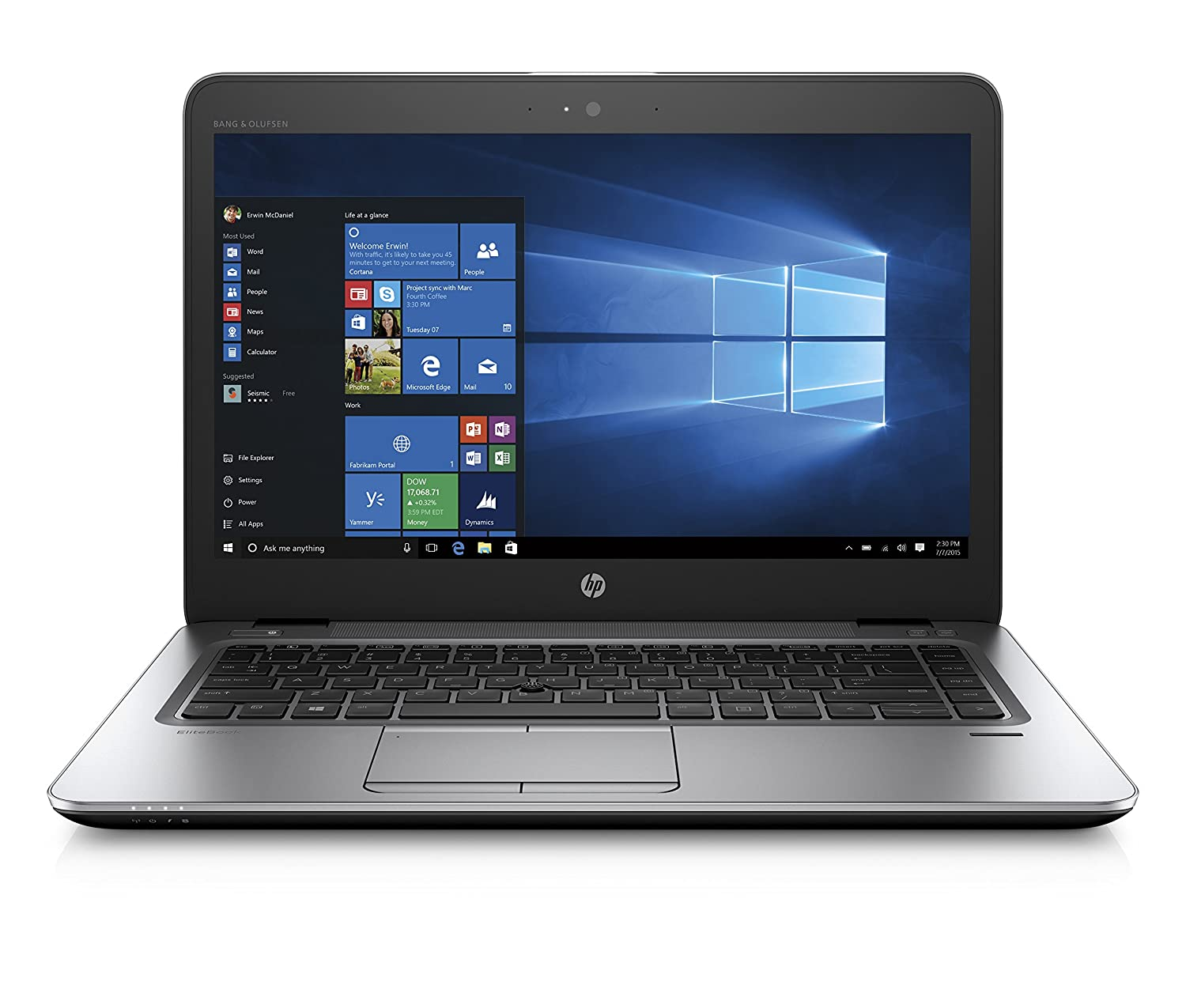 HP EliteBook 840 G4 portátil, 14 Full HD (Intel Core i7 – 7500u, 16 GB RAM, SSD de 512 GB, Intel HD 620, Plateado: Amazon.es: Informática