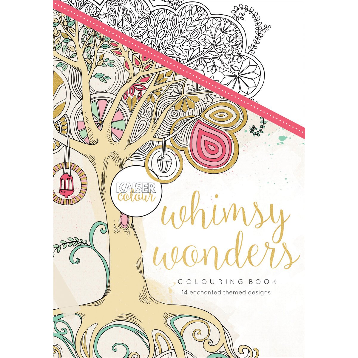 Kaisercolour Coloring Book-Whimsy Wonders Kaisercraft 523489