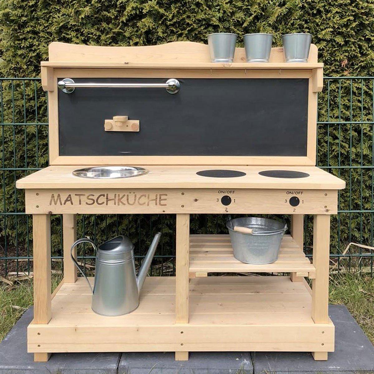 Kinderkuche fur draussen for Sommerkuche selber bauen