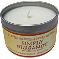 Our Own Candle Company Soy Wax Aromatherapy Scented Candle, Simply Bergamot, 6.5 Ounce