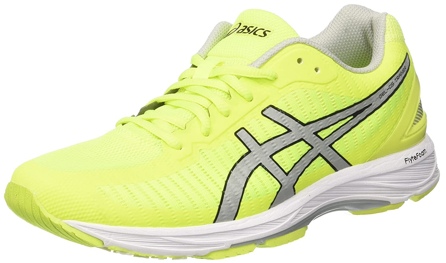 Asics Gel-DS Trainer 23, Zapatillas de Running para Hombre 45 EU|Amarillo (Safety Yellow/Mid Grey/White 0796)