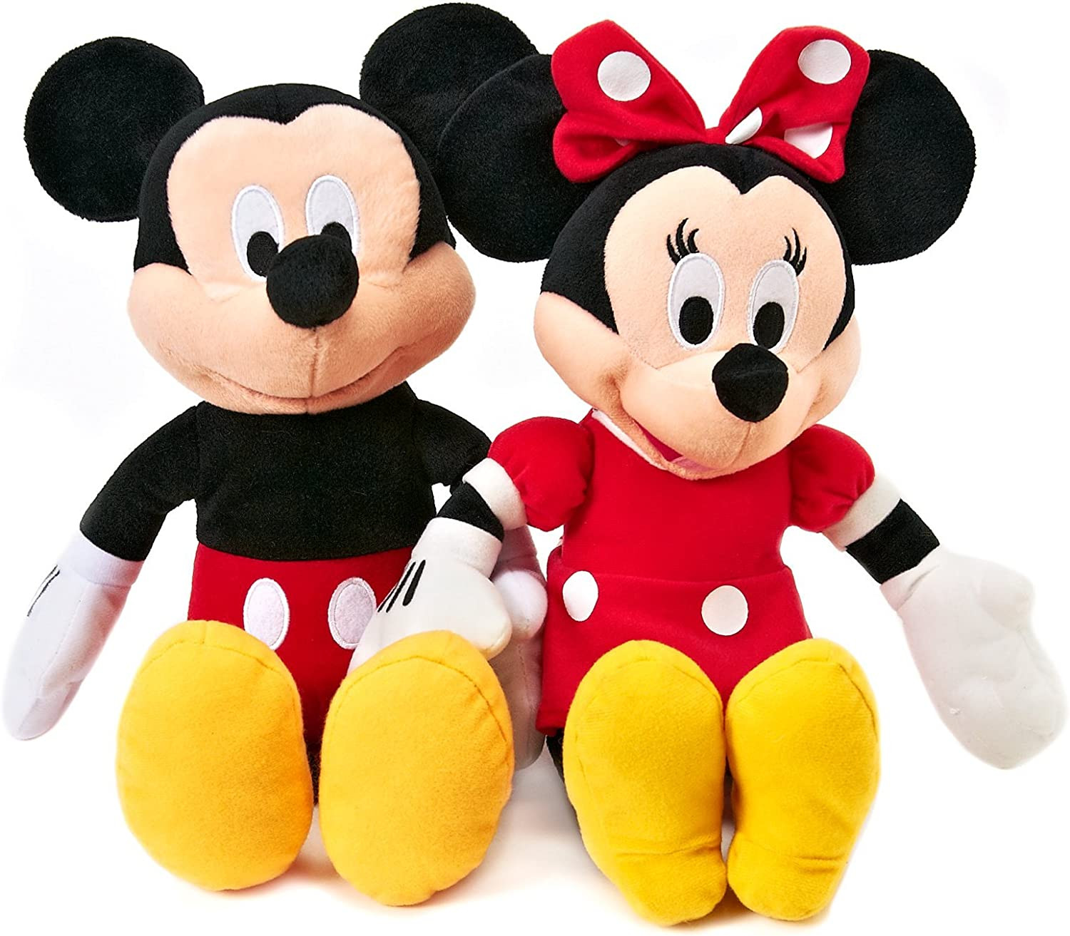Disney Mickey and Minnie Plush Dolls (15) by Disney: Amazon.es ...