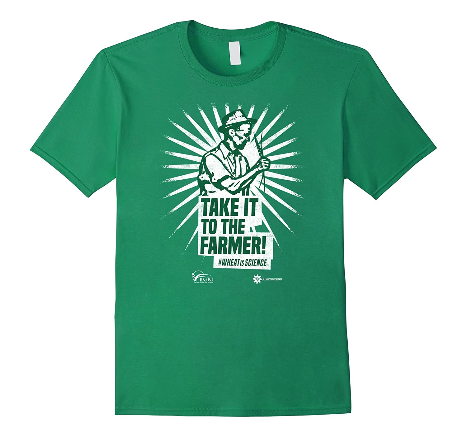 Take it to the farmer - March for science T-shirt-TD