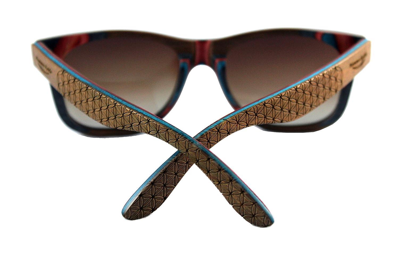 Nouvelles étagères——muc wood sn phm maple wood étagères——muc lunettes% verres polarisés dans un afd268