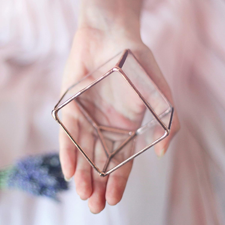 Amazon.com: Wedding Ring Box, Ring Bearer Box, Valentine\'s Day ...
