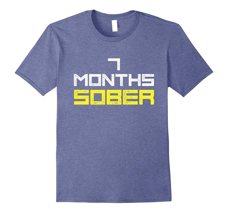 d816537a Sobriety T-Shirt Gift 7 Months Sober Funny-Art – Artvinatee