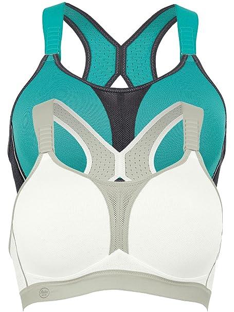 Anita Sujetadores deportivos sin aros para mujer 5537 (pack de 2): Amazon.es: Ropa y accesorios