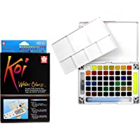 Sakura Koi Watercolor Field 36 Color Sketch Set, Multicolor, 48 Color Set