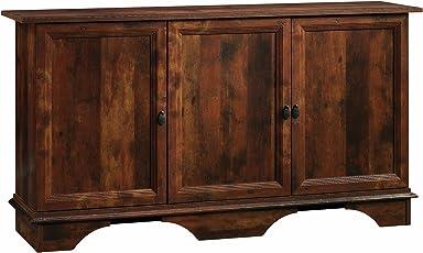sauder 420122 viabella storage cabinet curado cherry finish antique storage cabinet with doors69 cabinet