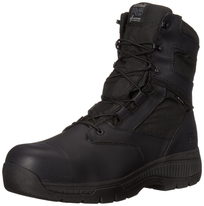 Timberland PRO メンズ B00RKMAEOS 9.5 2E US|Black Smooth Leather Ballistic Nylon Black Smooth Leather Ballistic Nylon 9.5 2E US