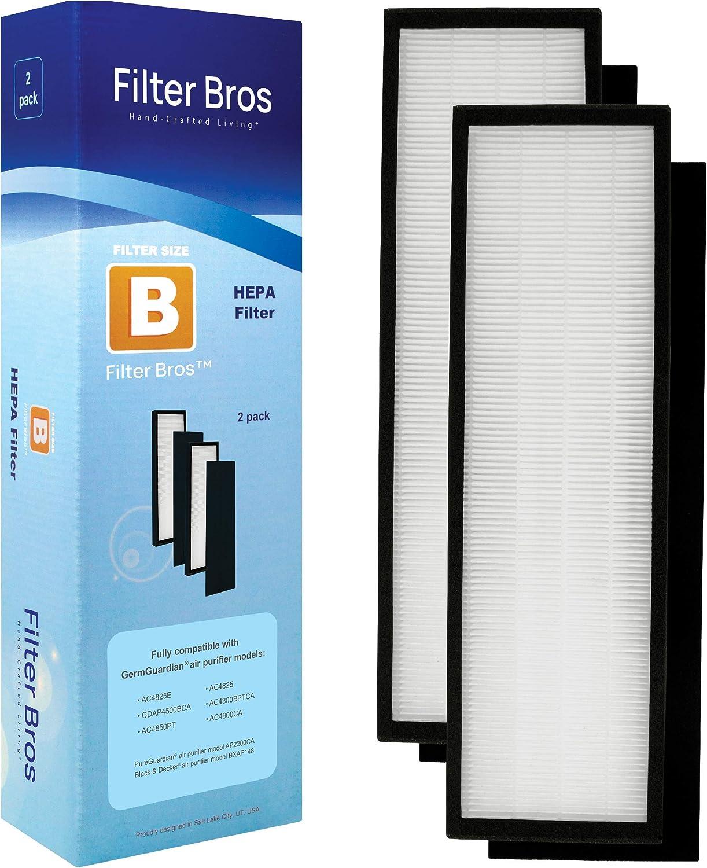 Filtro B para con GermGuardian AC4825 / AC4825E