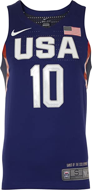 Nike Vapor USA Basketball Auth Jersey Camiseta sin Mangas, Hombre ...