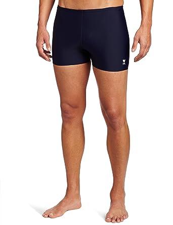 dedc6727cb Amazon.com : TYR Sport Men's Square Leg Short Swim Suit : Athletic Swim  Jammers :