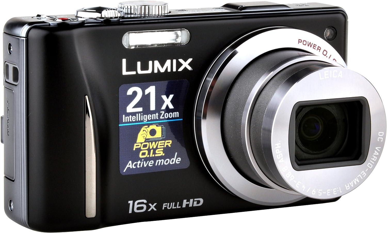 Panasonic Lumix DMC-TZ20EG-K - Cámara digital compacta 14 MP (Zoom ...