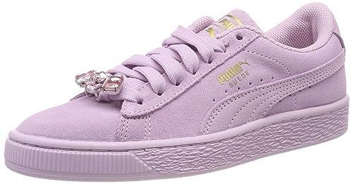 Puma Suede Jewel Jr, Zapatillas para Niñas: Amazon.es: Zapatos y complementos