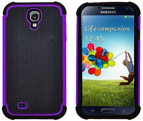 G-Shield Funda para Samsung Galaxy S4, Carcasa Protectora y Anti-Arañazos, Violeta