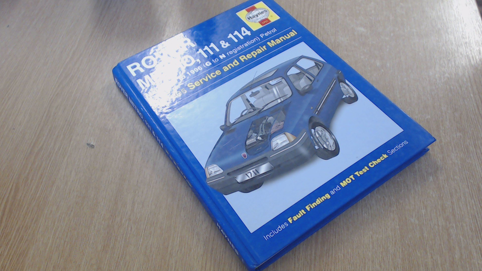 Rover Metro and 100 Series Service and Repair Manual (Haynes Service and Repair  Manuals): Amazon.co.uk: Jeremy Churchill: 9781859601655: Books