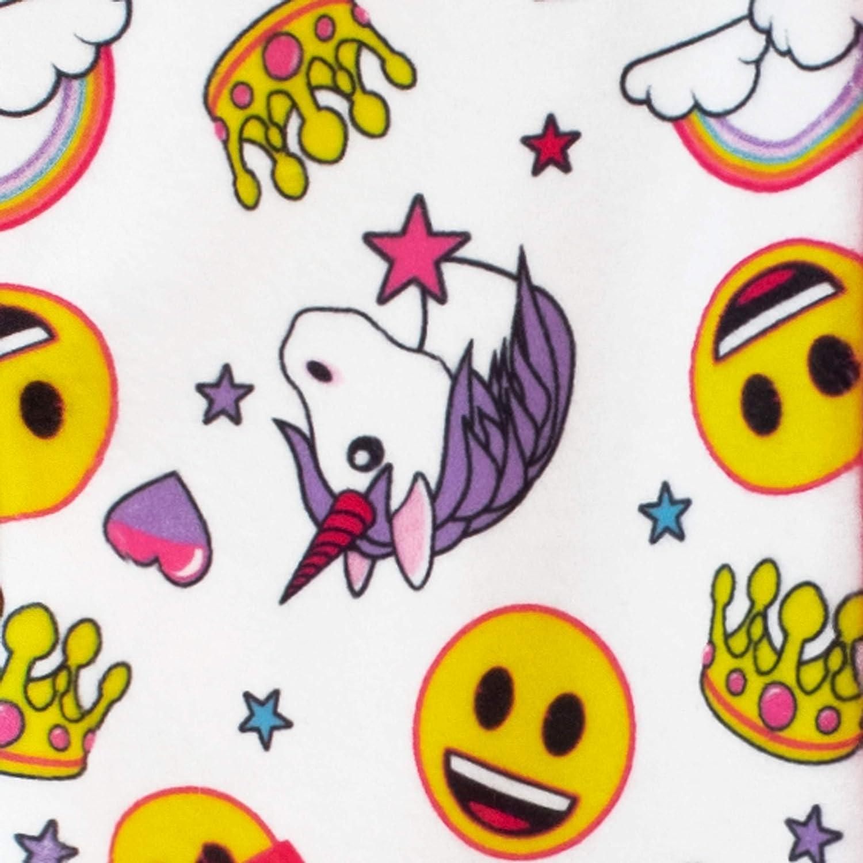 Emoji Vestaglia da Notte per Ragazze Unicorni e Arcobaleni