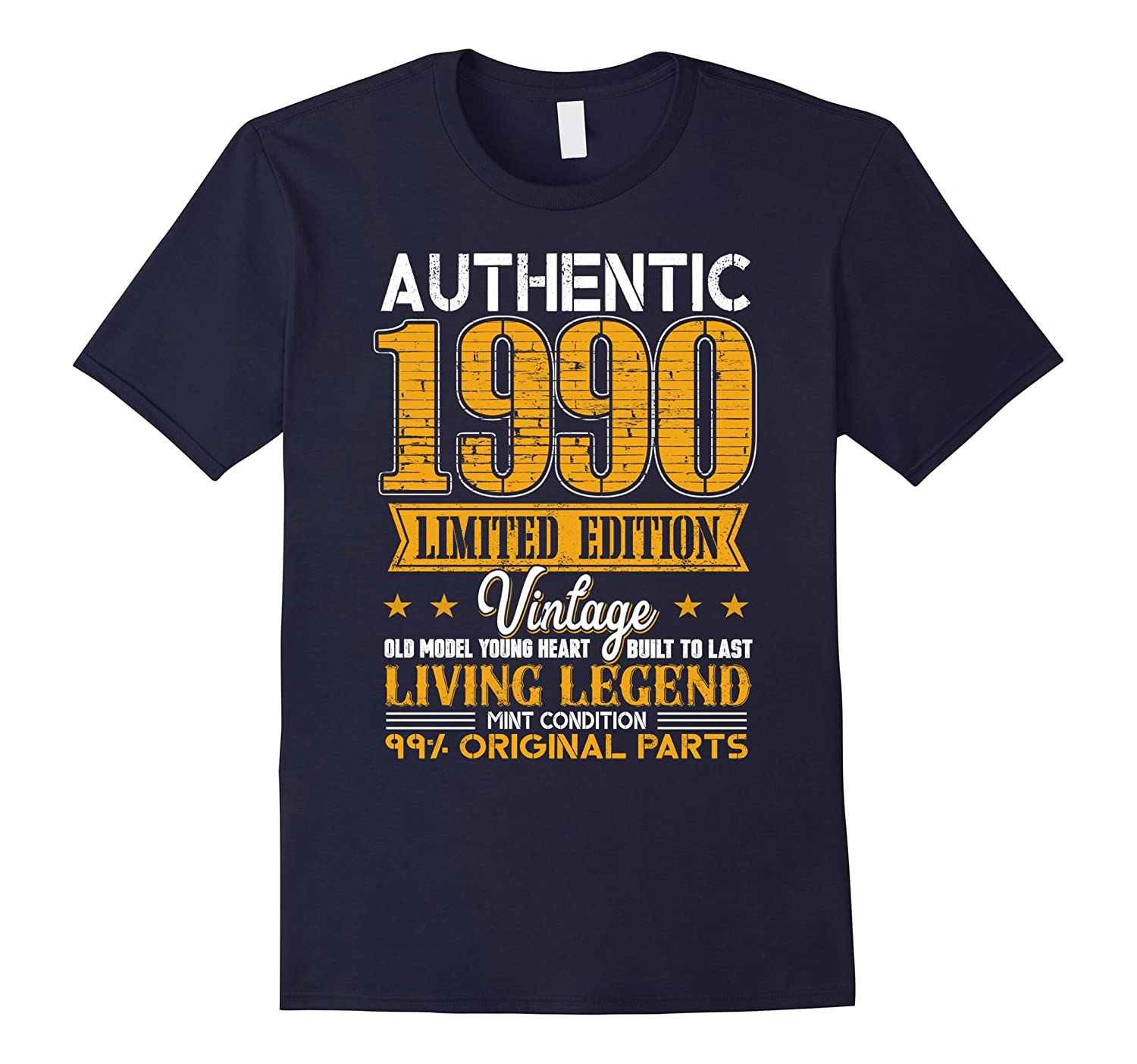 Legends Vintage Made In 1990 27th Birthday Gift 27 years old-FL