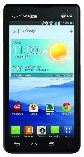 amazon com lg lucid 2 black 8gb verizon wireless cell phones rh amazon com LG 4G Smartphone LG 4G LTE Smartphone