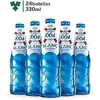 Cerveza Importada Premium K1664 Blanc 24 botellas de 330ml c/u