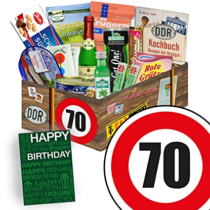 Spezialitäten Box Ostpaket L Geburtstag 70 Geschenkkorb Oma