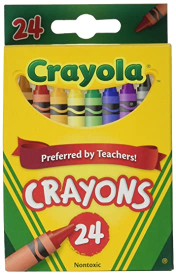 crayola crayons 24 colorspack of 12