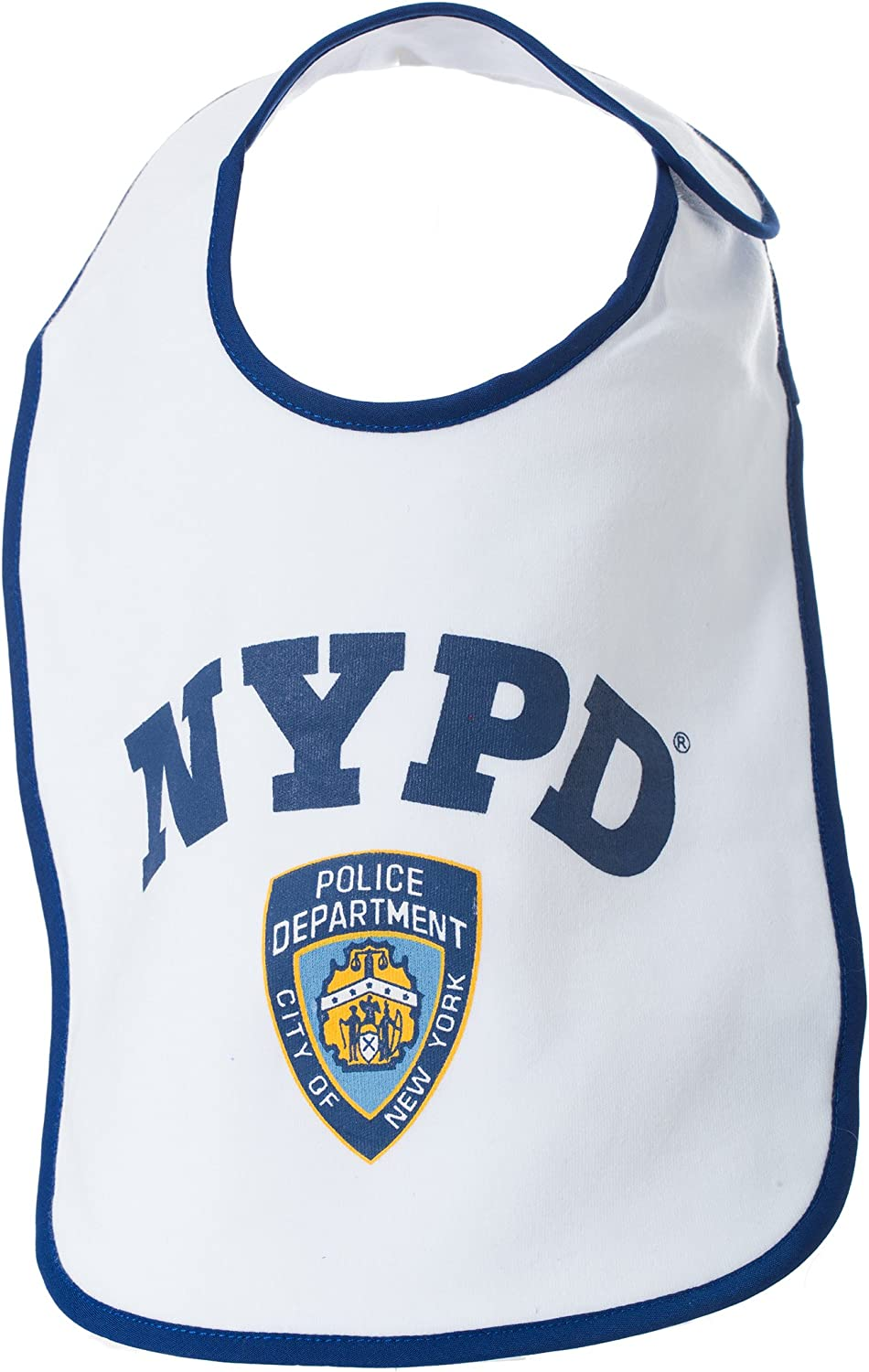 NYPD Baby Bib Logo - Officially Licensed New York City Police Department Gift