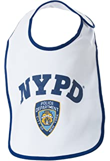 4c4fa73b8 NYPD Baby Bib Logo - Officially Licensed New York City Police Department  Gift