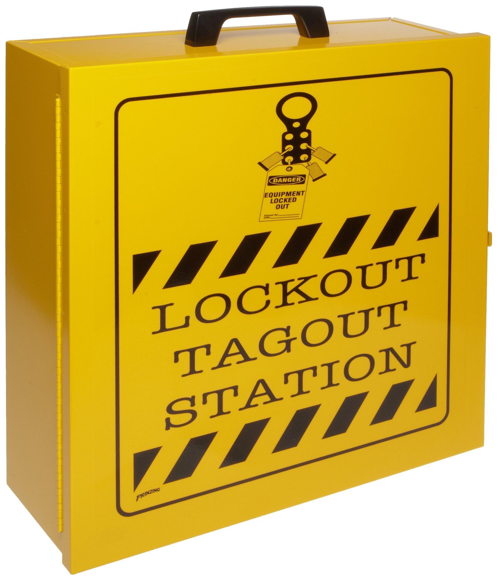 Brady Prinzing Lockout Station Cabinet, Unfilled by Brady