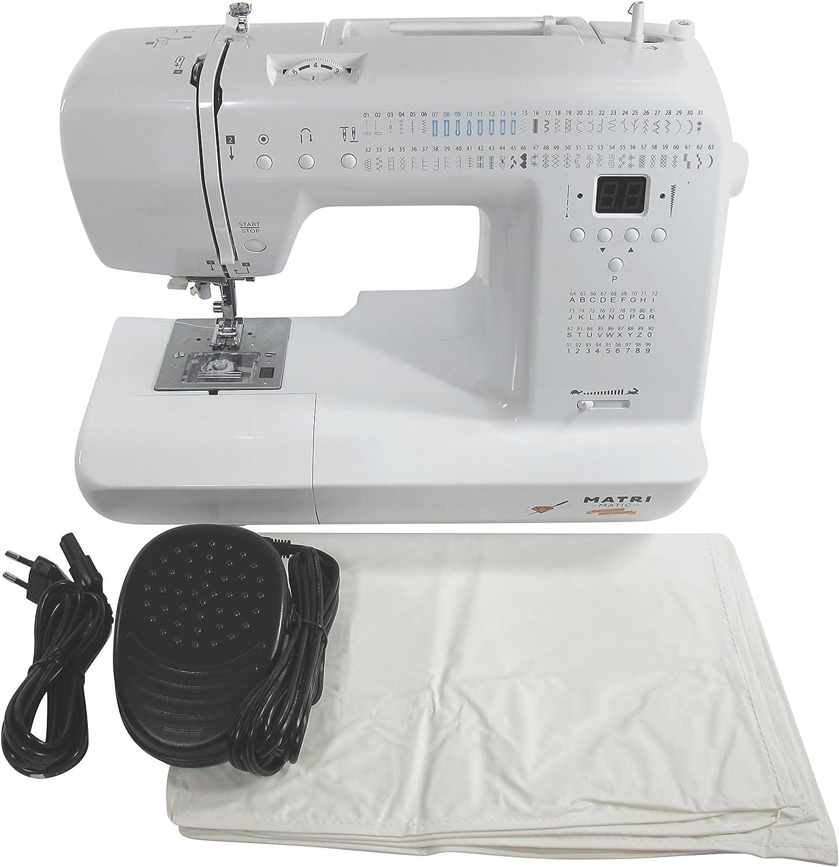 Máquina de coser -- Matrimatic Bronze: Amazon.es: Hogar