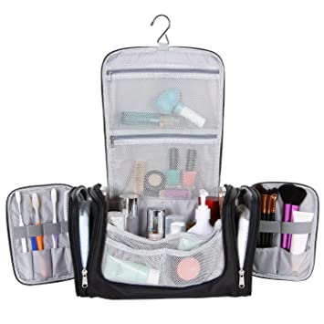 cf3d12567082 Lifewit Hanging Toiletry Bag Extra Large Waterproof Travel Essentials  Organizer Personal Cosmetic Makeup Shaving Kit  Amazon.ca  Beauty