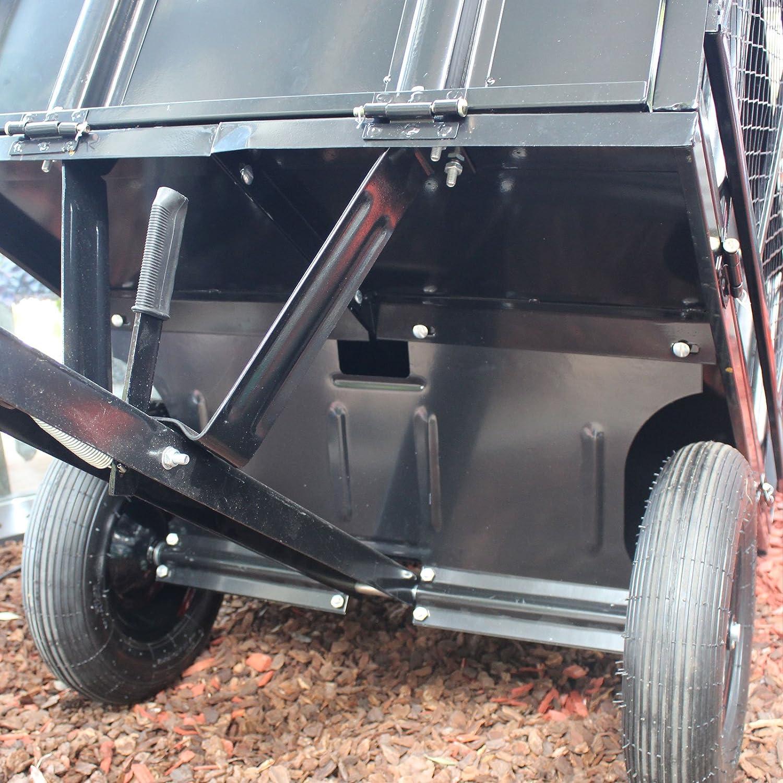 Super TrutzHolm® Anhänger Rasentraktor 300 kg kippbar Aufsitzmäher &RK_54