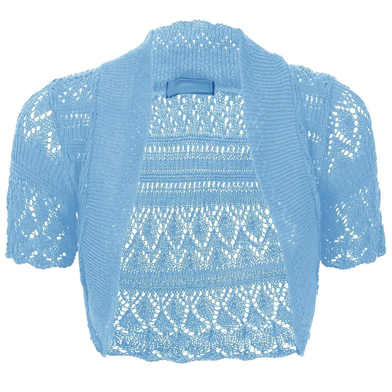 Light Blue Shrug Sweater Coat Nj