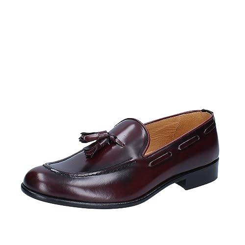 J. BREITLIN - Mocasines de Piel para hombre Morado Size: 41: Amazon.es: Zapatos y complementos
