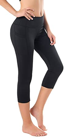 22acc3e386 Sugar Pocket Womens Outdoor Capris Fitness Tights Leggings Walking Running  Yoga Pants: Amazon.co.uk: Clothing