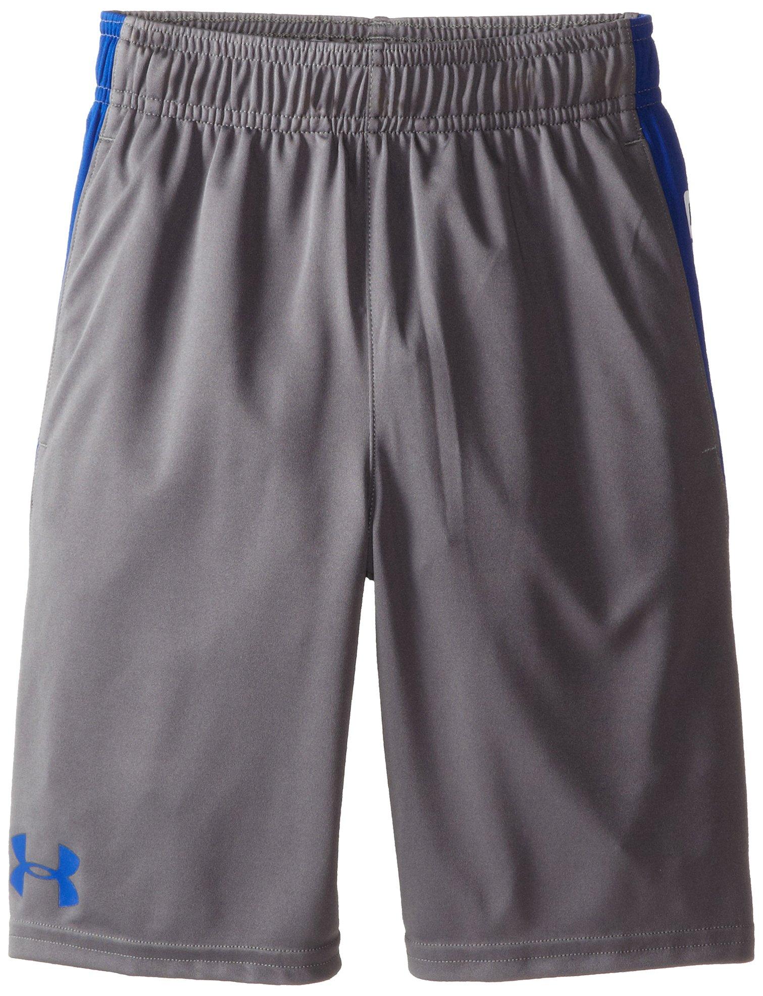 Under Armour Boy's Eliminator Shorts, Graphite