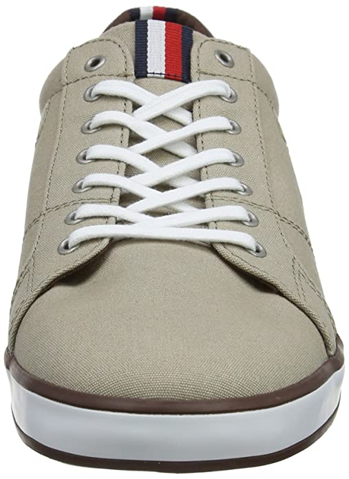 8888474ccd73 Tommy Hilfiger Men s s Iconic Long Lace Sneaker Low-Top  Amazon.co.uk  Shoes    Bags