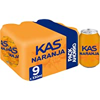 Kas refresco de Zumo de Naranja - Pack