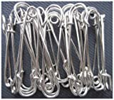 LeBeila Large Safety Pins, Strong Blanket Pins in